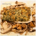 Vis met een krokant korstje en dragon beurre blanc