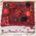 Kwark-vruchtentaartje