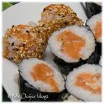 Sushi met gravad lax