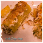 Canneloni van koolraap en risotto