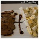 Eendenborst en asperges (slow cooking)
