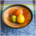 Stilleven met citrusvruchten