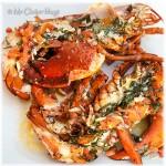 Kreeft met basilicum-tomaten dressing uit de oven