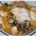 Bouillabaisse uit Vlaanderen, vis uit Katwijk