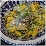 Salades met sinaasappel