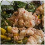 Salade langoustines