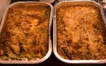 Lasagne met spinazie, ricotta en pijnboompitten