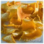 Sinaasappelpoeder en -paneer