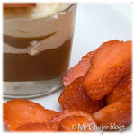 Chocolade-mousse met lambada's