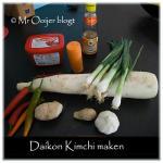 Daikon Kimchi maken