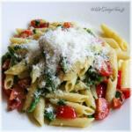 Volstrekt verantwoorde vegetarische pasta