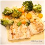 Stoofpotje groenten met vis