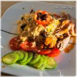 Variant op bulgur salade